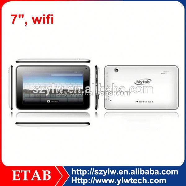 7 Inch A20 Dual core 800*480 screen 7 inch tablet pc with hdmi