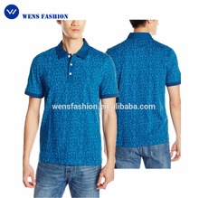 Mens eco-friendly dressing office korean fashion polo shirt