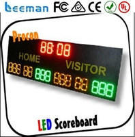 seven segment led display p3 2013 led xxxx video xxx wall badminton scoreboard