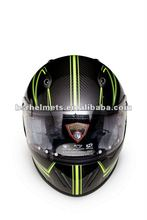 Motorcycle Full Face Carbon helmet RFF-1 with ECE standard