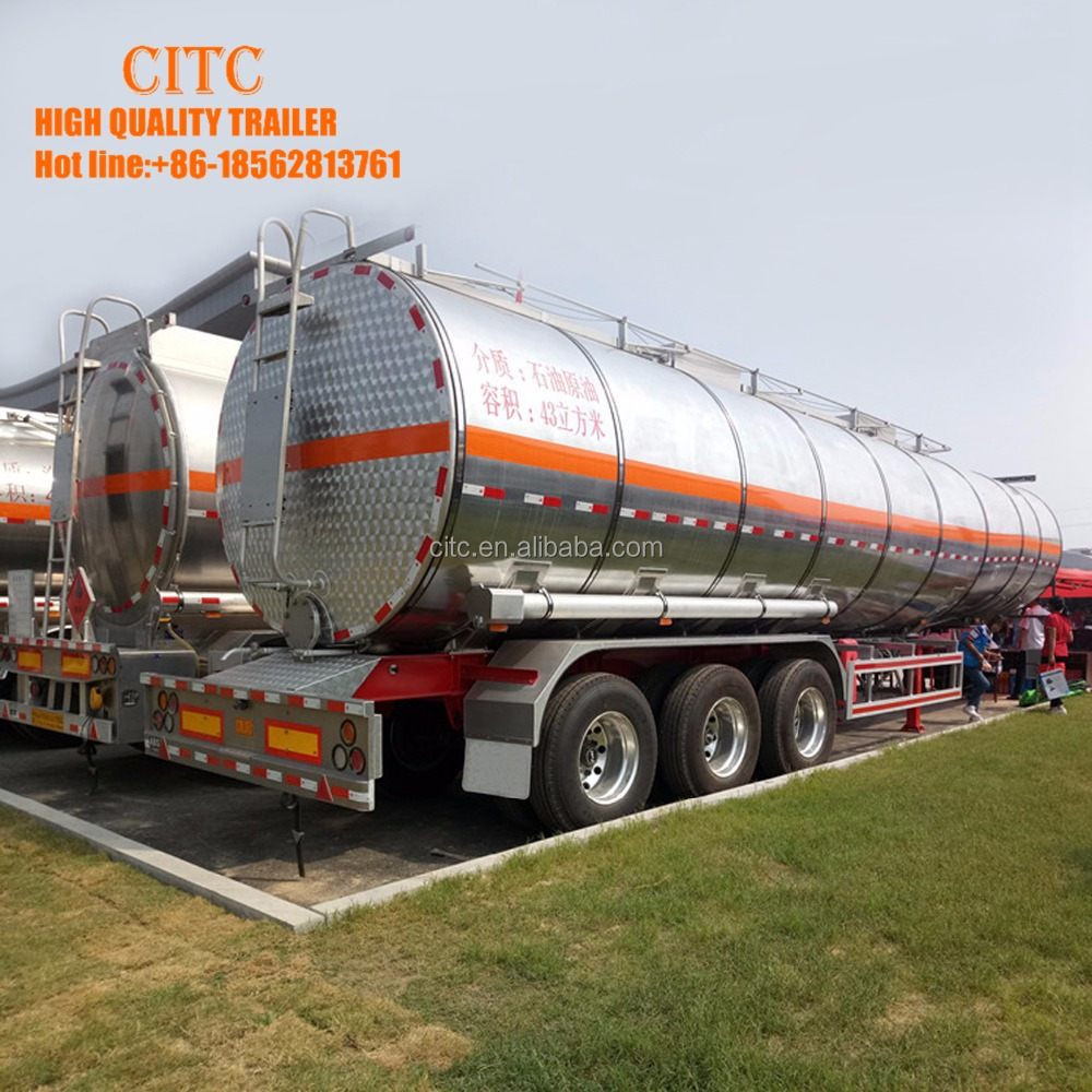 36000 litres Fuel Tanker Semi Trailer/High Quality Fuel Truck Semi Trailer Used Oil Tankers For Sale