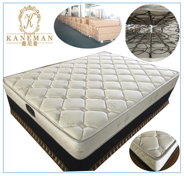 bedroom furniture promotion compressed bonnell spring mattress queen
