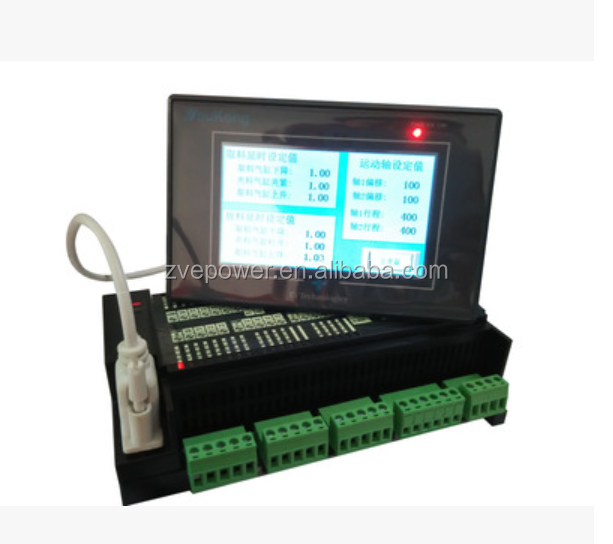 industrial control panels PLC FX1N2N 20MR 20MT STC12C5A60S2 / SCM learning board for Mitsubishi PLC control panel PLC