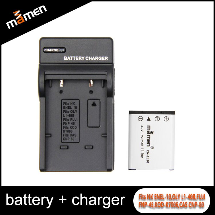 Wholesale High Quality Digital Battery US Charger Universal Model Changed Charger Borad For EN-EL10 Battery