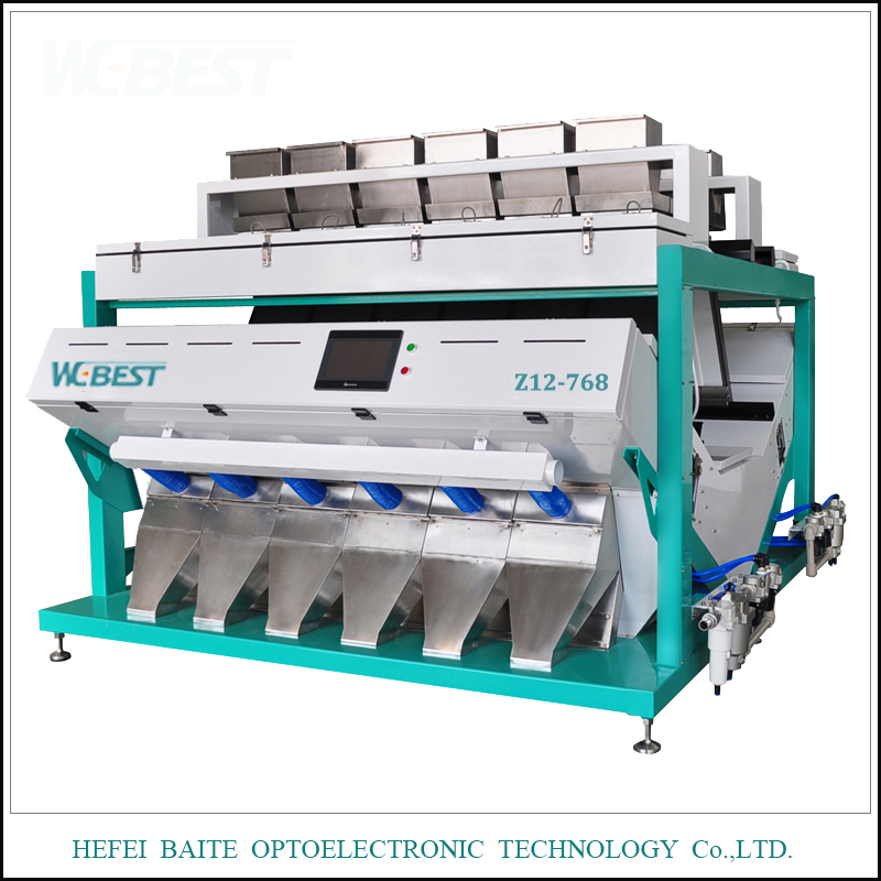 Different Size Optical CCD Color Sorter Machine For Grain Color Sorting