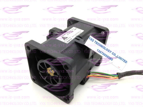 DELTA 4056 twin-motor 2.2A 4cm motorcycle boost violence fan GFC0412DS