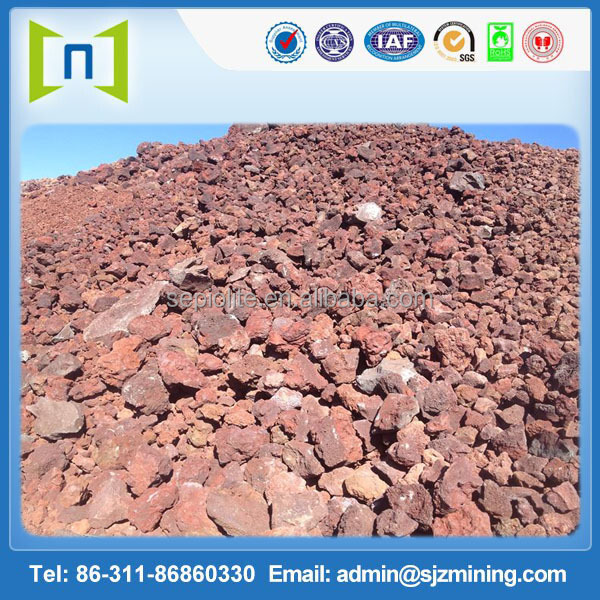 Processing and whosale full sizes natural lava rock