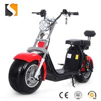 2016 newly fashion popular fat tyre electric scooter citycoco