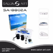 Ion spa detox/Ion Cleanse Foot Detox Spa/Ion Detox Foot Spa Machine With High Quality SA-8802A