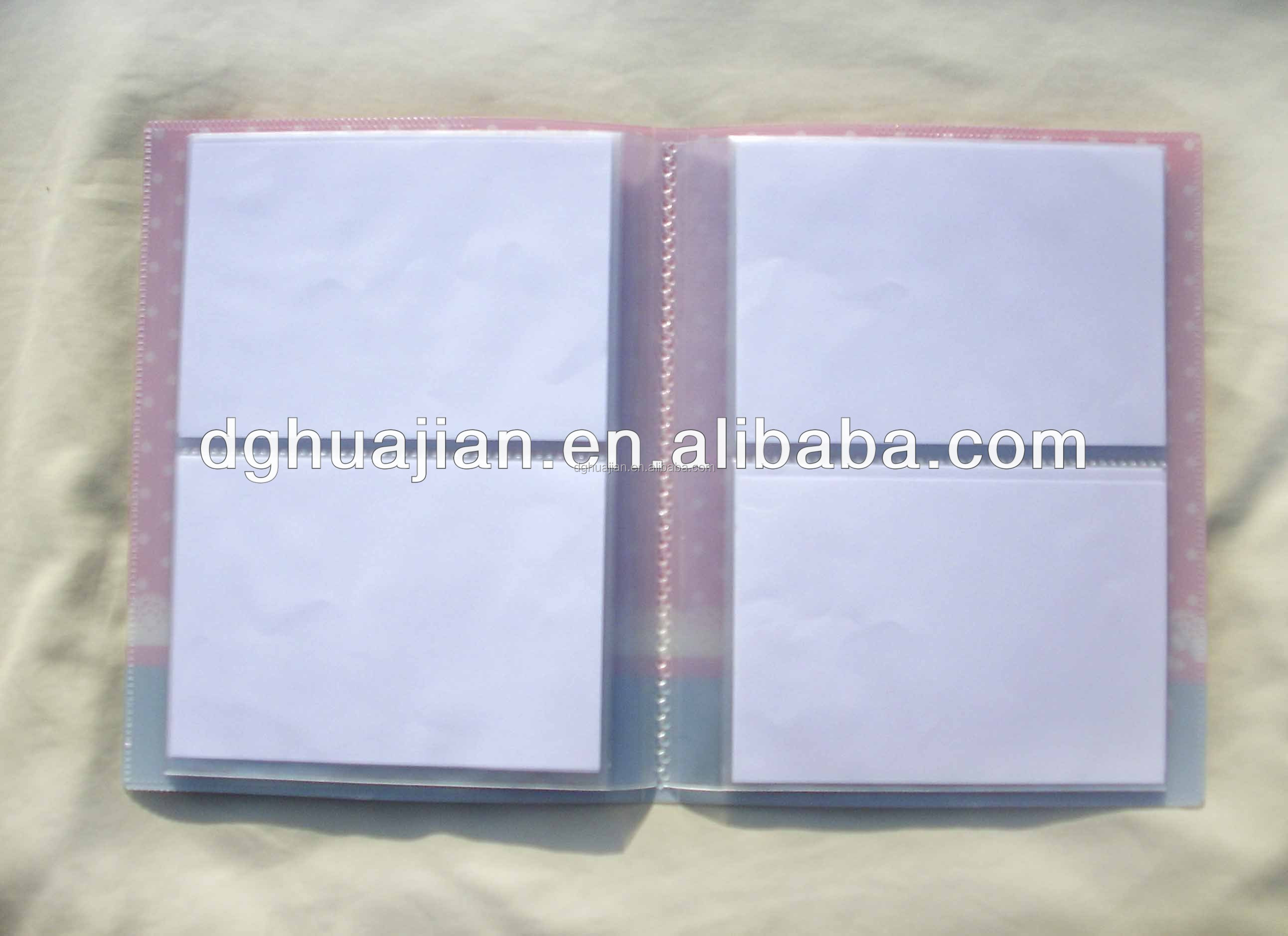 Custom Cheap craft photo album PP Eco Friendly Material from Dongguan Manufacture