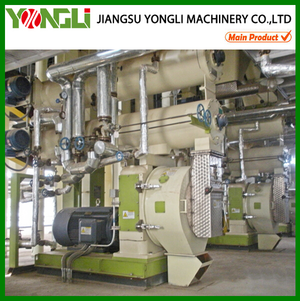 Low energy consumption 5t/h cattle feed production plant