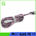 charging and data transfer double function for reversible micro usb2.0 data cable