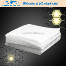 Disposable Hotel Bed Sheet, White Spunlace Hotel One Time Use Bed Linen