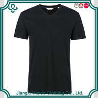 cheap black clothes supplier polyester tshirt for men