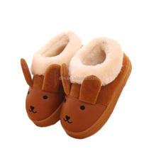 Children's cartoon image pu leather snow boots Toddler Boy And Girl Shoes boots infant shoes infant boys new born shoes