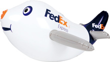 Big Supermarket Supplier Advertising Inflatable Airplane For Promotion