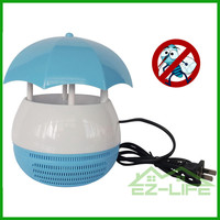 Solar LED light lamp insect killer electric mosquito zapper