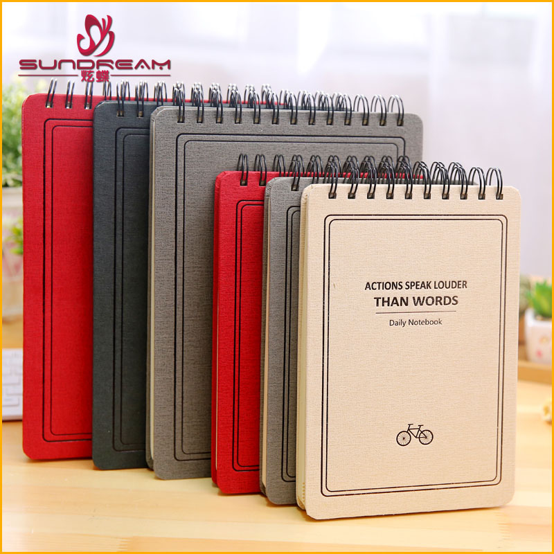 2017 trending products A3 A4 wholesale Sketchbook Painting Sketch Book custom Sprial Notebook paper Office School Supplies