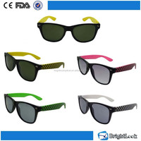 2015 New Style Colourful with Chinese style italian design and factory promotion Kids Sunglasses