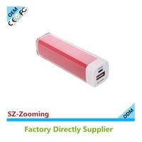 Z-110 2600mah manual for power bank,lipstick power bank 2600mah sales agents wanted worldwide