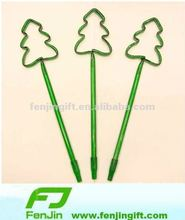 christmas tree shape pen for promotion