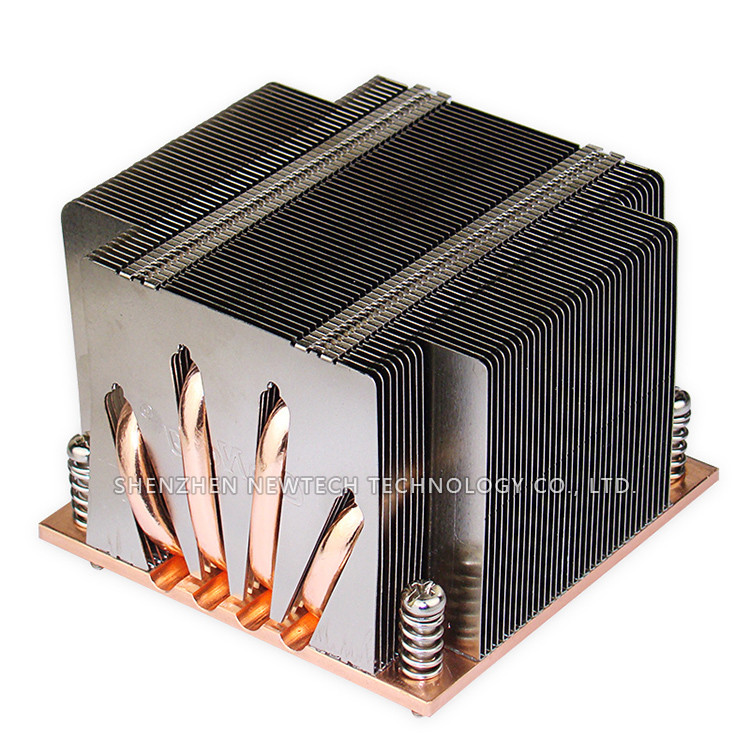 2017 base bonded fin heatpipe aluminum cpu Industrial switches heat sink company