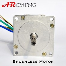 70X70MM 66-198W made in China brushless 48VDC motor with 3000RPM