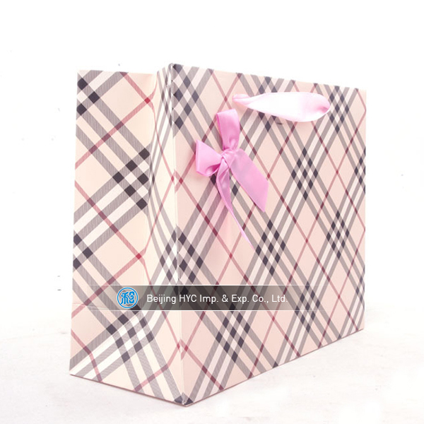 China Factory Custom Recyclable GIft Secret Paper Bag