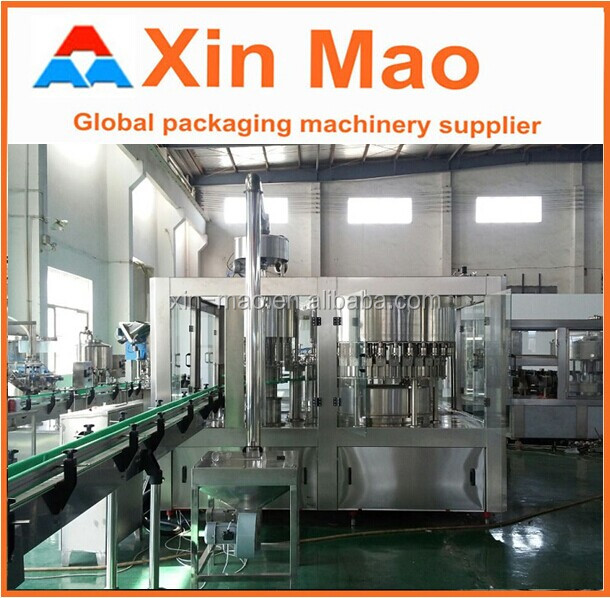 Mineral Water Plant/Xinmao jiangsu xinmao filling machine turnkey project for beverage