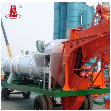 Road Equipment 60-80th DHB 60 Mobile Asphalt Mixing Plant Portable Asphalt Hot Batch Plant Bitumen Mixing Plant CE&BV