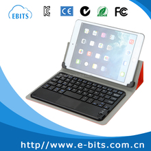 for tablet computer leather case with touchpad keyboard 8 inch