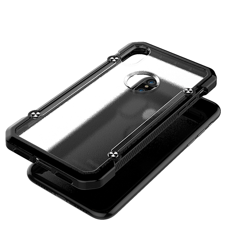 New Model Multi Color TPU PC Shockproof Mobile Phone Case for iP XS