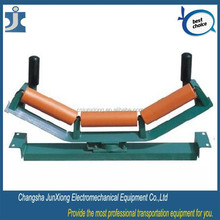 Mineral production and delivery belt line used conveyor roller, conveyor roller making machine