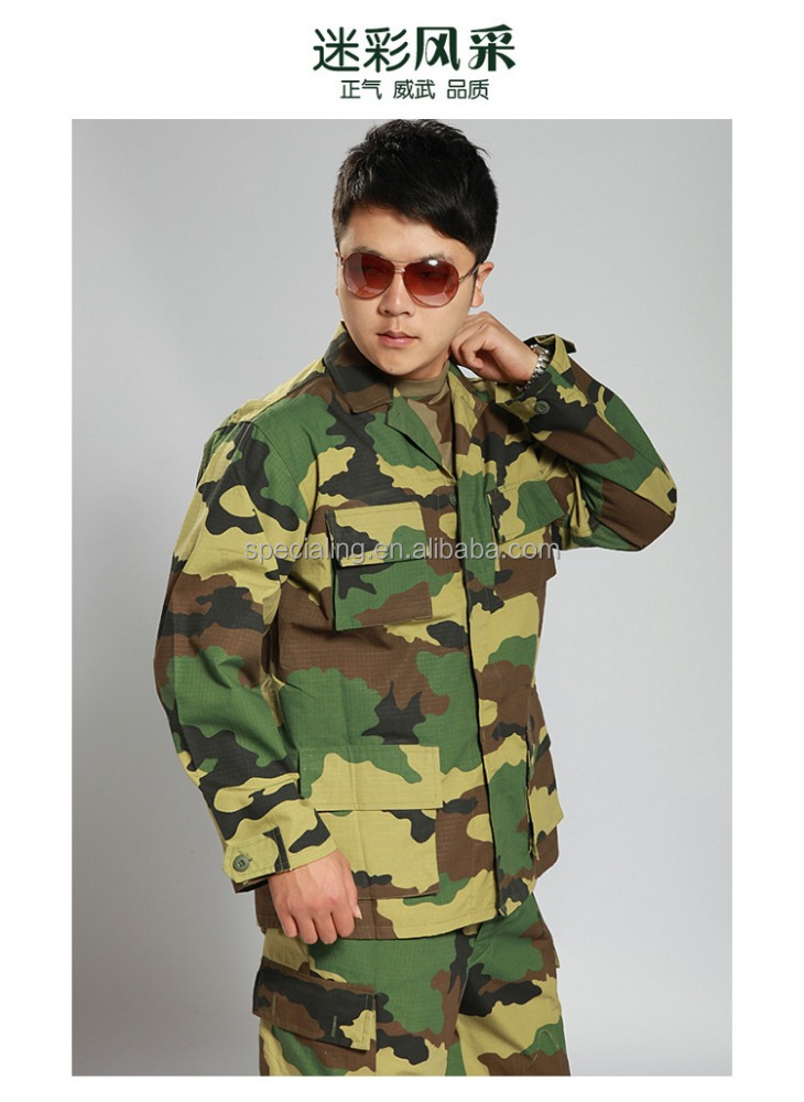 Custom Unisex Camouflage military uniform us army combat uniform multicam Airsoft paintball militar tactic military uniform