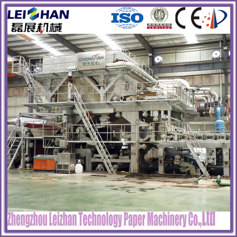 Low cost jumbo roll tissue paper machine/equipment manufacturing toilet paper