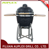 Outdoor Kitchen 23.5inch Barbecue Egg Shaped Ceramic Grill Smoker
