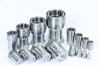 ISO 7241 A Stainless Steel Hydraulic Quick Coupling