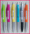 plastic colored logo changing pen