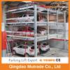 CE Approved Semi Automatic Car Stacking System Puzzle Car Stacker Parking