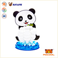DIY children toy, panda educational kids toys , magic crystal growing paper for talbe decoration