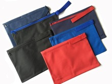New Zippered Carry Pouch Bag Bags for Documents with Handle