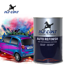 Free samples high gloss metallic blue car paint colors