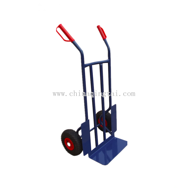 Qingdao manufactures construction hand trolley two wheel