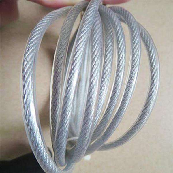 ALL SIZE 6X17 Fiber core or steel core Stainless Steel Wire Rope for oill drilling