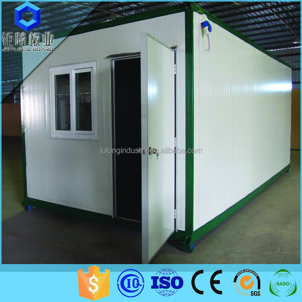Prefab Container houses with using fireproof sandwich panel