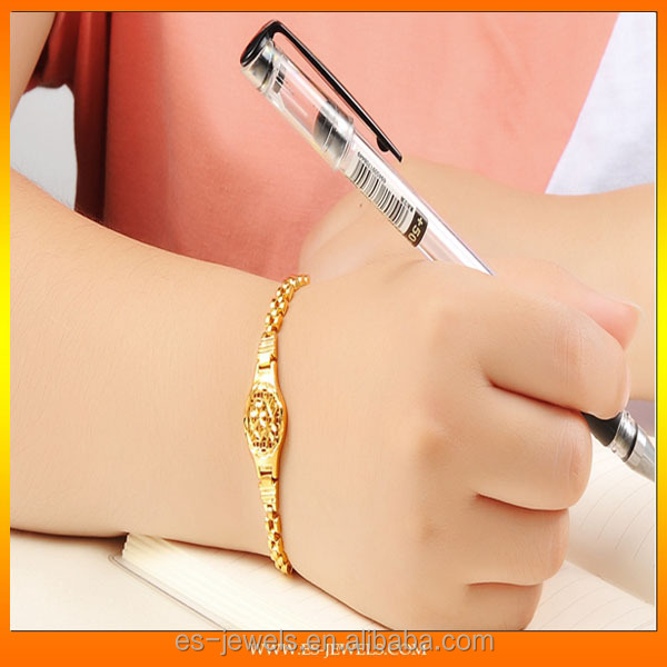 China supplier electroplate 18K Gold Plated Bracelets