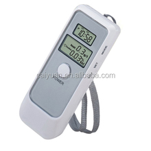 Portable 2 LCD display alcohol tester digital breathalyzer for keep <strong>safety</strong>