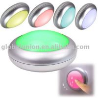 7 color mini push lights