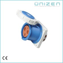 UNIZEN Best Price Good Quality Generator Plug And Socket 32A 2Pin Power Socket