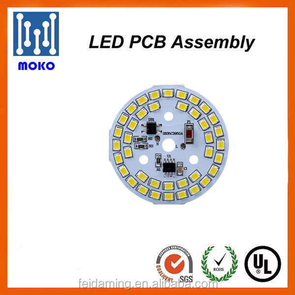 2016 new integrated round led lamp bulb and ceiling light pcb board modules high volts without driver